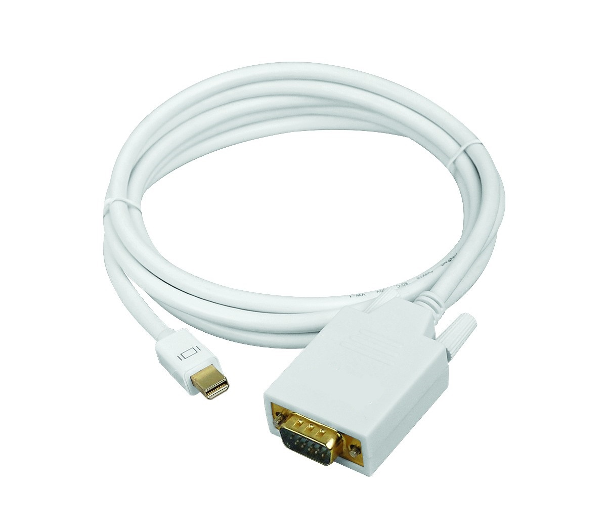 mDP to VGA Cable, 6ft (~2m), Active